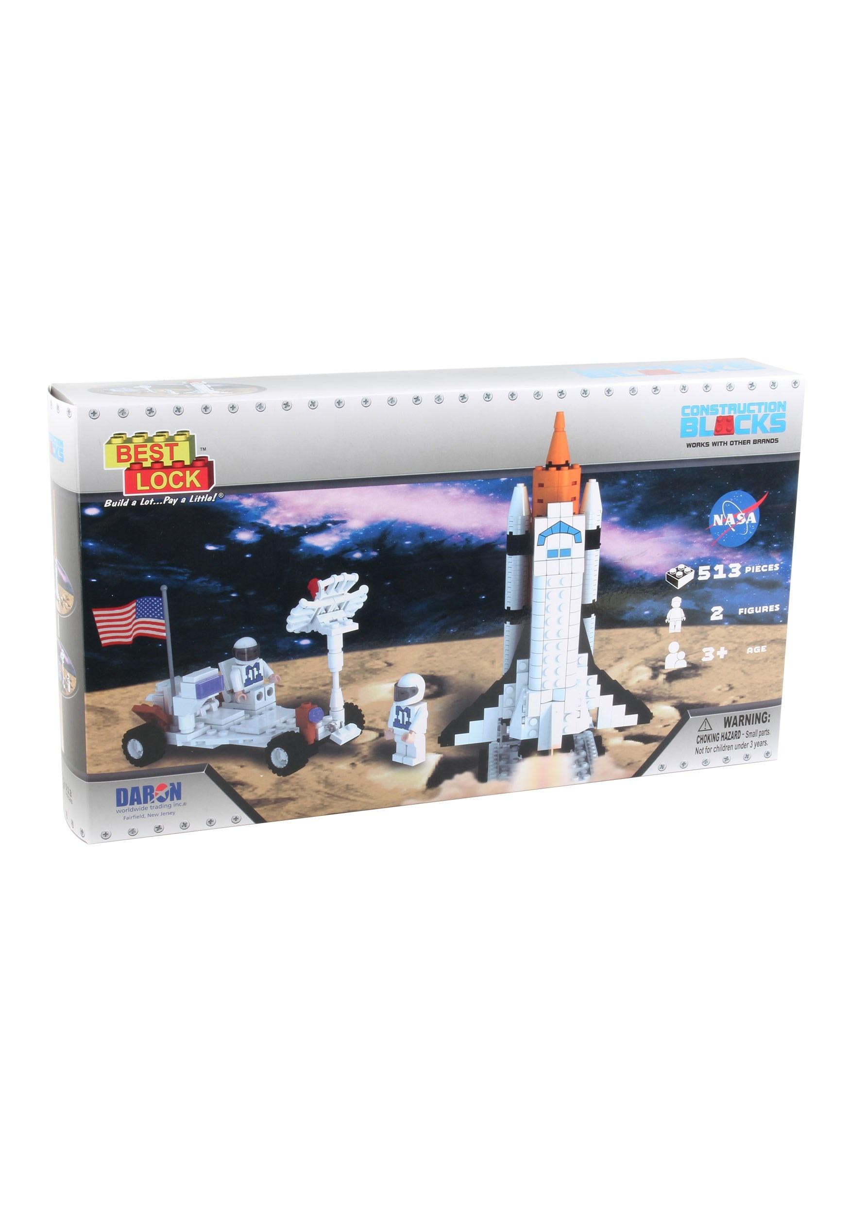Best Lock Construction Space Shuttle Building Set