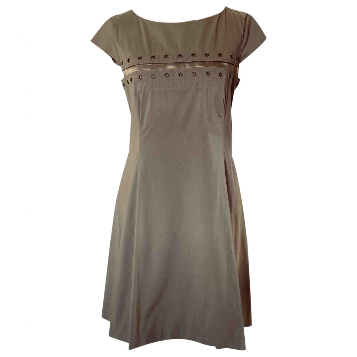 Yves Saint Laurent \N Cotton dress for Women 36 FR