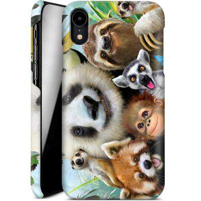 Apple iPhone XR Smartphone Huelle - Zoo Selfie von Howard Robinson
