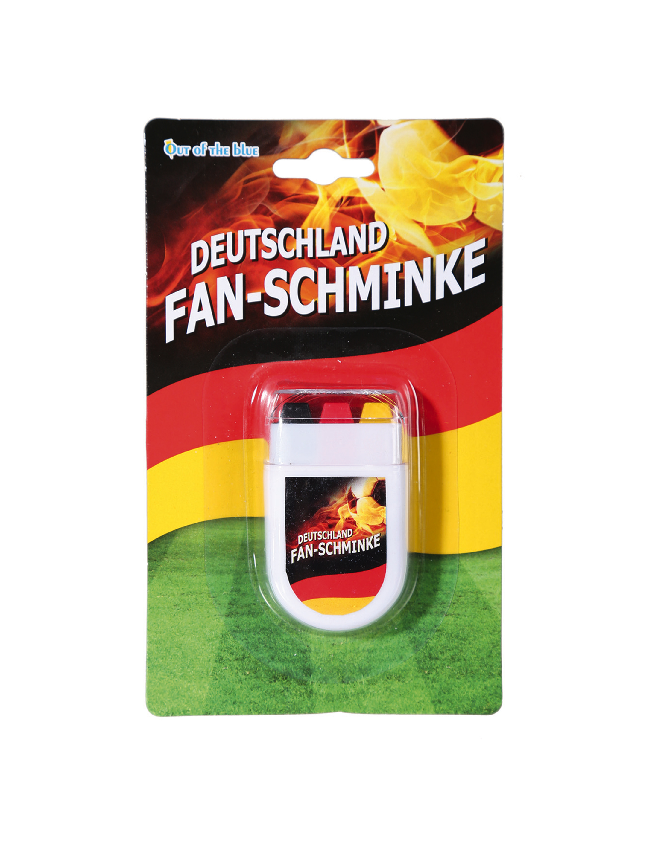 Fan-Schminke Deutschland Farbe: schwarz/rot/gold