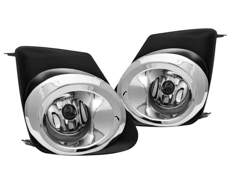 Winjet WJ30-0228-09 Clear Fog Lights Includes Wiring Kit Toyota Corolla 11-12