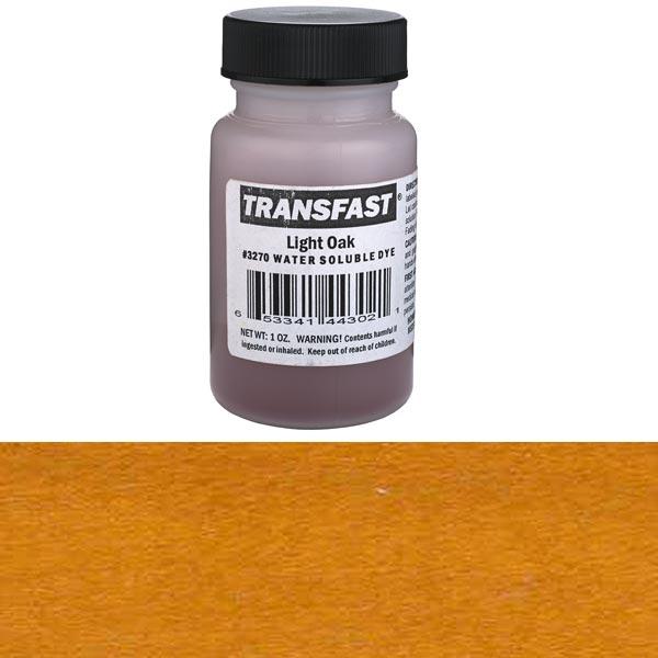 Light Oak Transfast Alcohol/Water Soluble Dye 2 oz