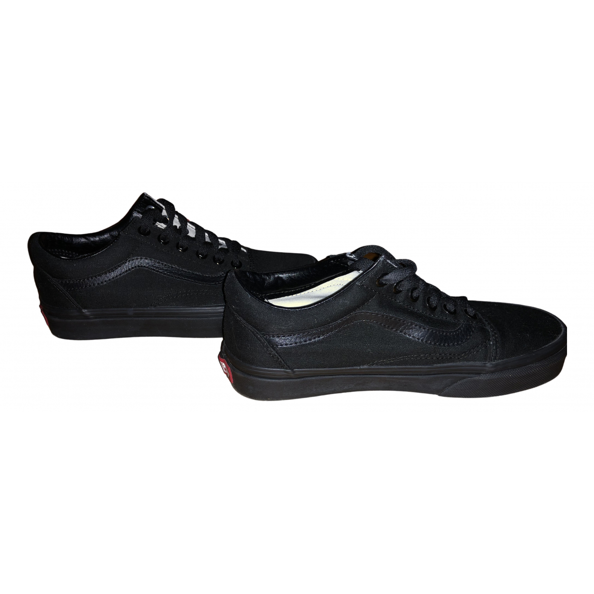 Vans N Black Cloth Trainers for Women 36 EU
