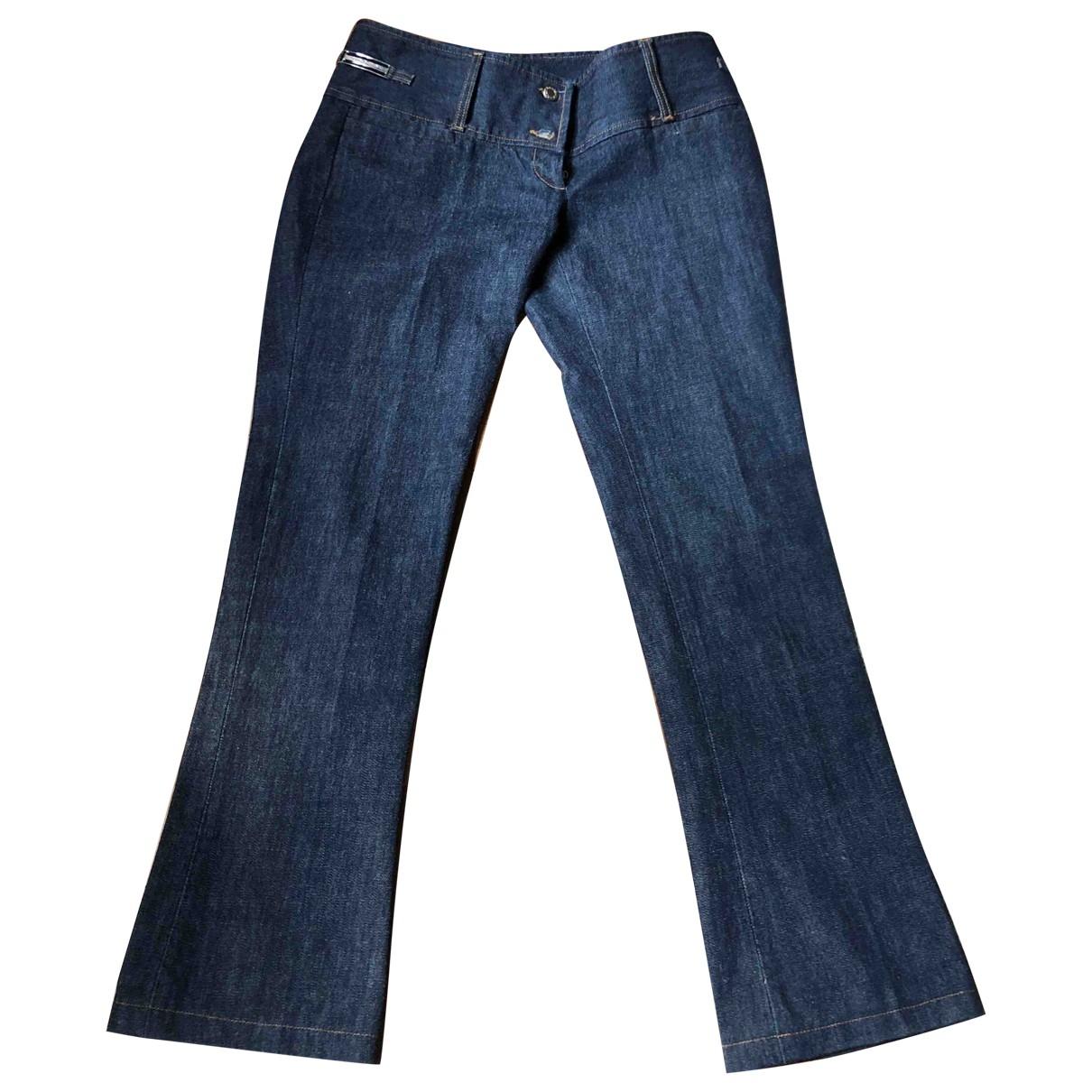 Dolce & Gabbana \N Blue Denim - Jeans Trousers for Women 44 IT