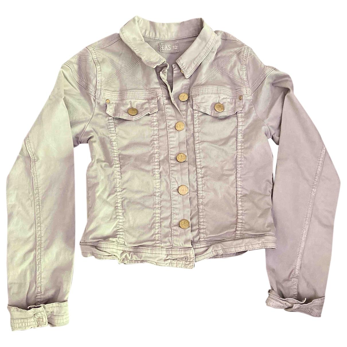 - Blousons.Manteaux   pour enfant en coton - gris