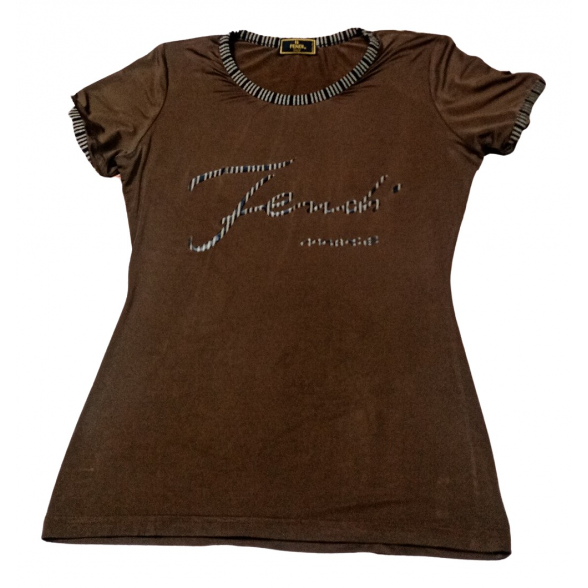 Fendi N Brown Cotton  top for Women 42 IT