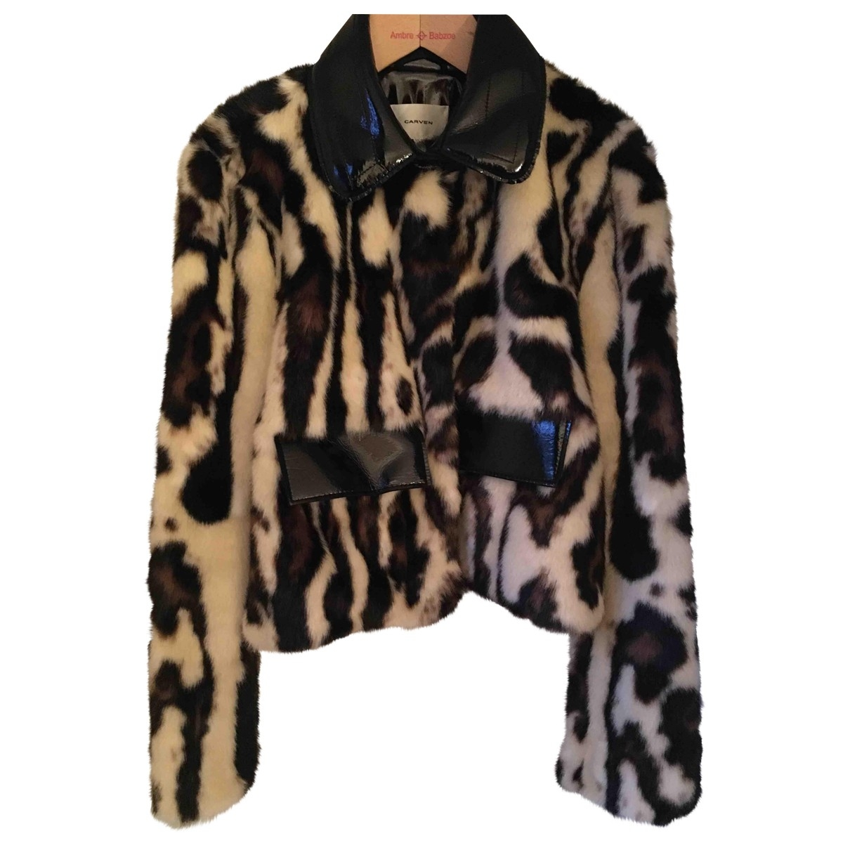 Carven \N Multicolour Faux fur jacket for Women 40 FR