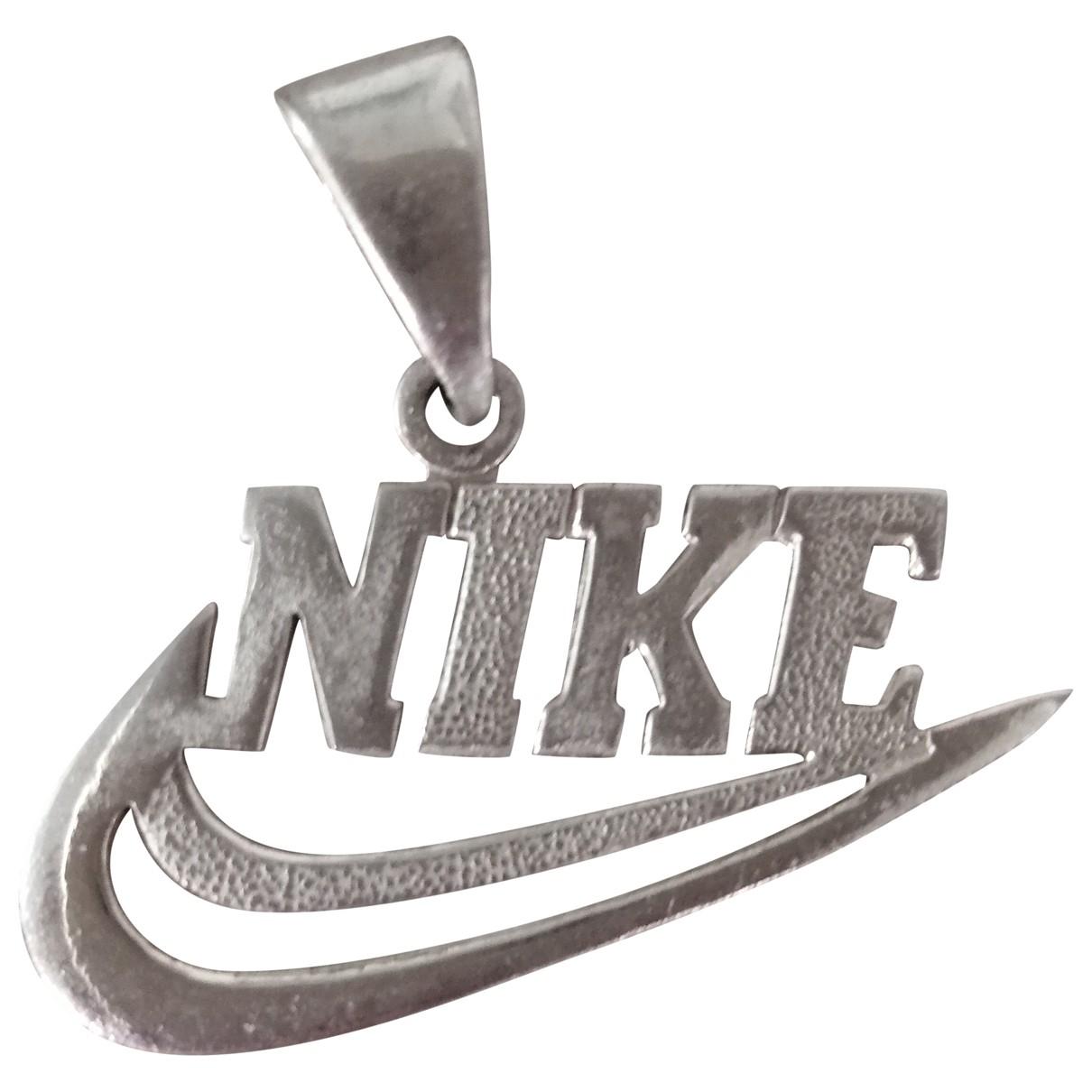 Nike - Pendentif   pour femme en plaque argent - argente
