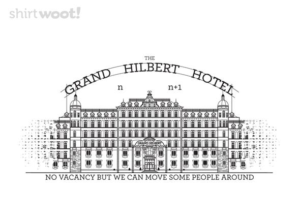 Hilbert's Grand Infinite Hotel T Shirt