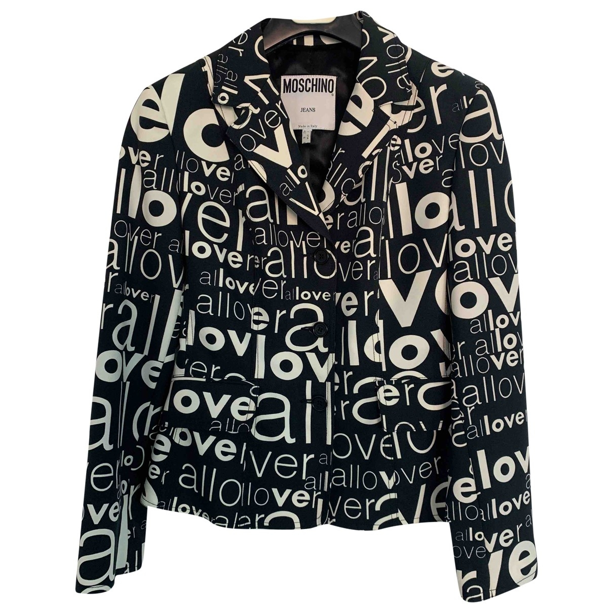 Moschino Cheap And Chic \N Black jacket for Women 42 IT