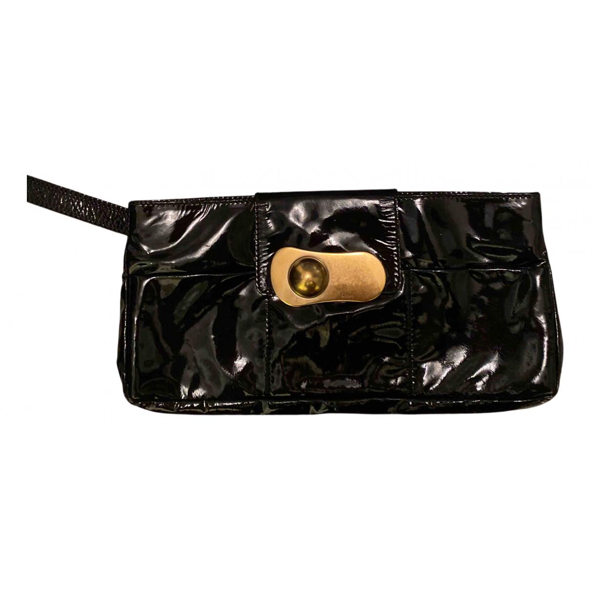 Chloe - Pochette   pour femme en cuir - noir