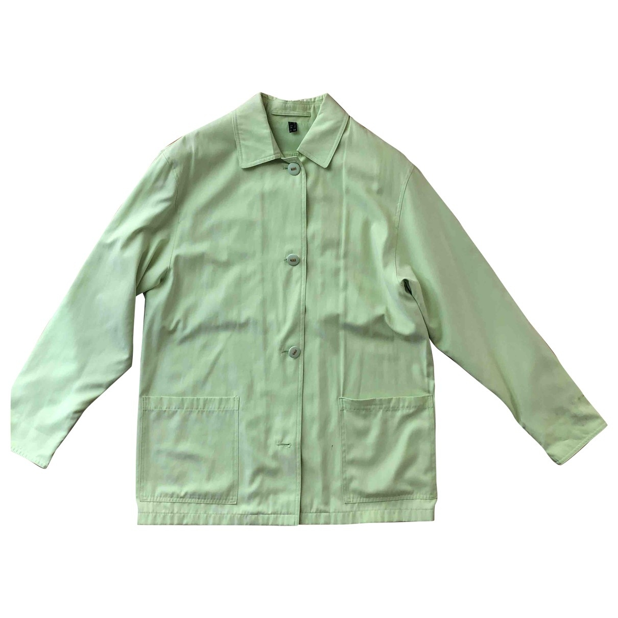 Non Signé / Unsigned \N Green jacket for Women 44 IT