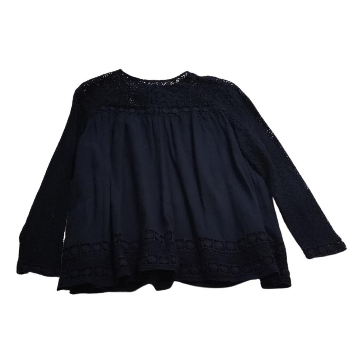 Berenice \N Navy Cotton  top for Women 38 FR