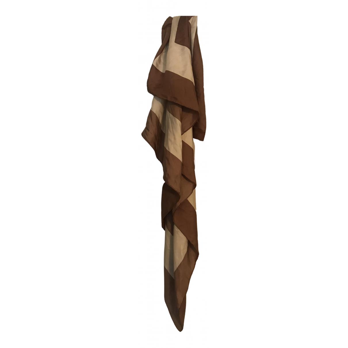 Day Birger & Mikkelsen N Brown Silk scarf for Women N