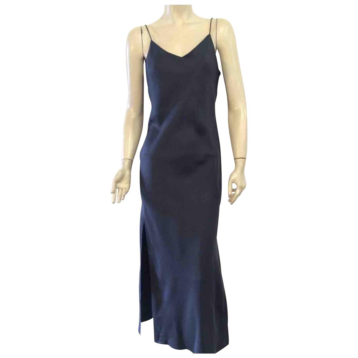 Rag & Bone \N Black Silk dress for Women 38 FR