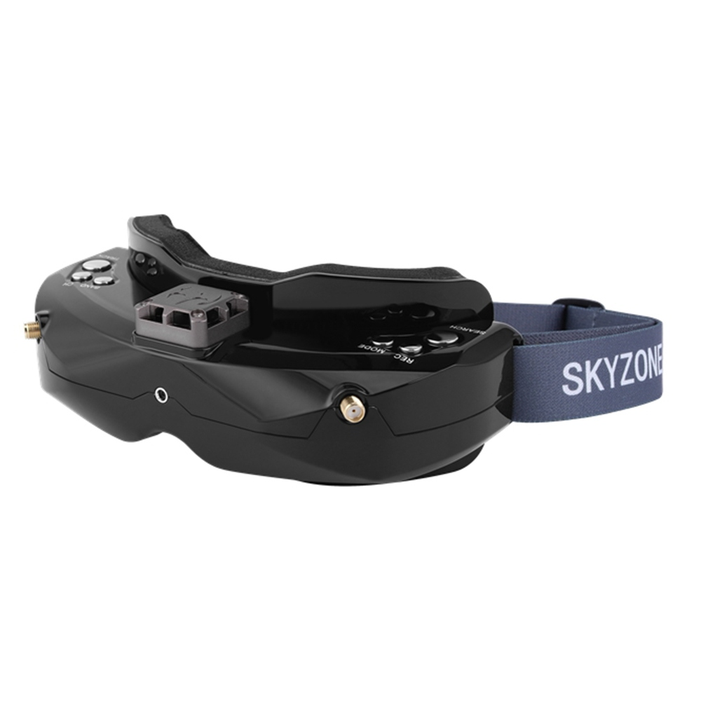 Skyzone SKY02X 5.8G 48CH True Diversity FPV Goggles Built-in Fan DVR Support 2D/3D HDMI IN For Racing Drone - Black