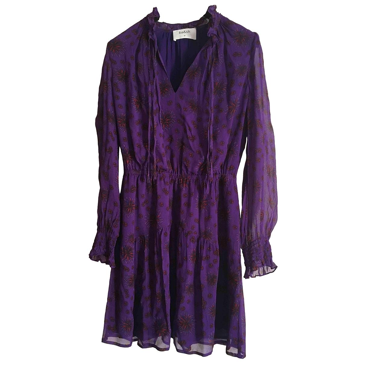 Ba&sh Spring Summer 2019 Purple dress for Women 34 FR
