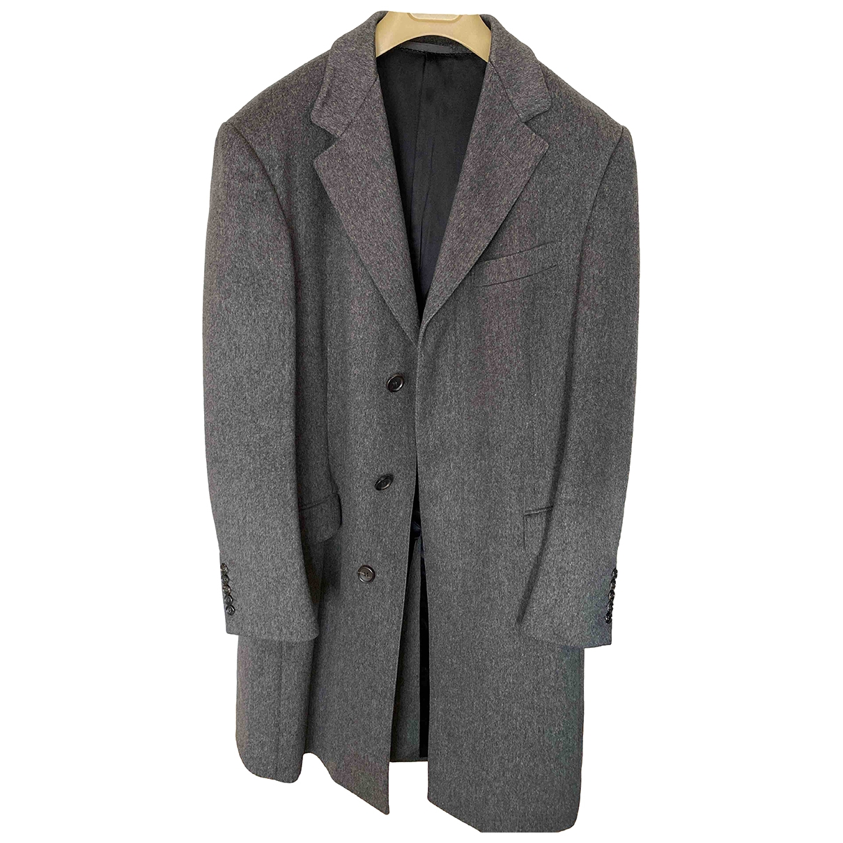 Gucci \N Grey Wool coat  for Men 50 IT