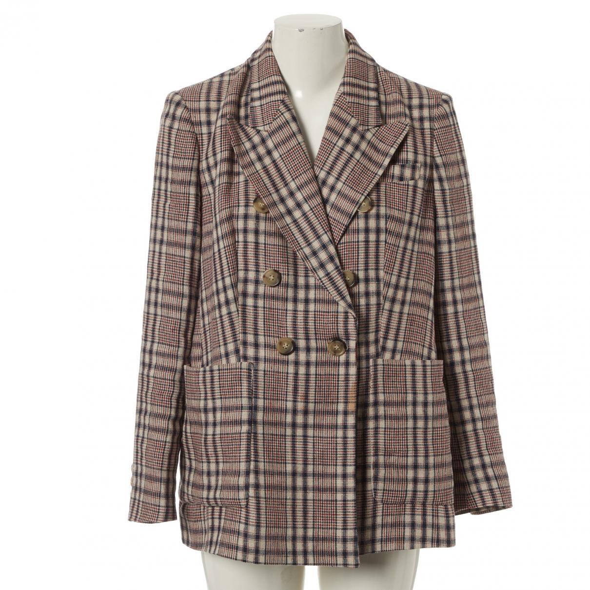 Isabel Marant Etoile \N Multicolour Linen jacket for Women 40 FR