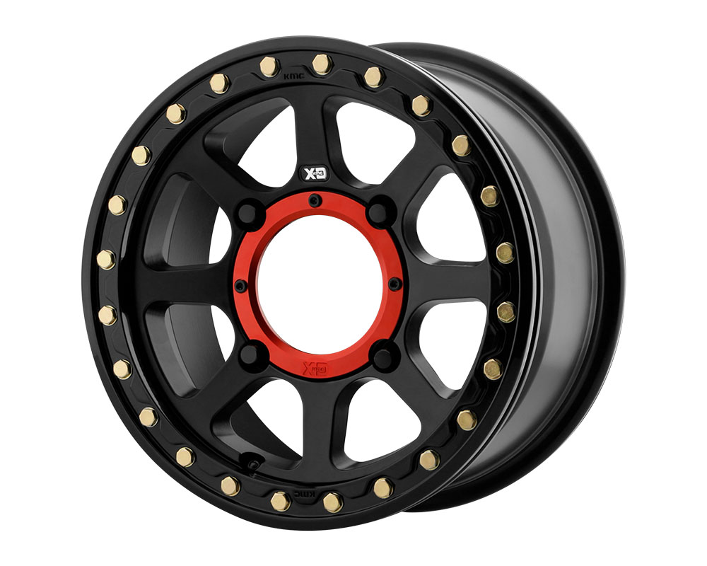 XD ATV XS234 Addict 2 Beadlock Wheel 15x6 4x4x137 +38mm Satin Black