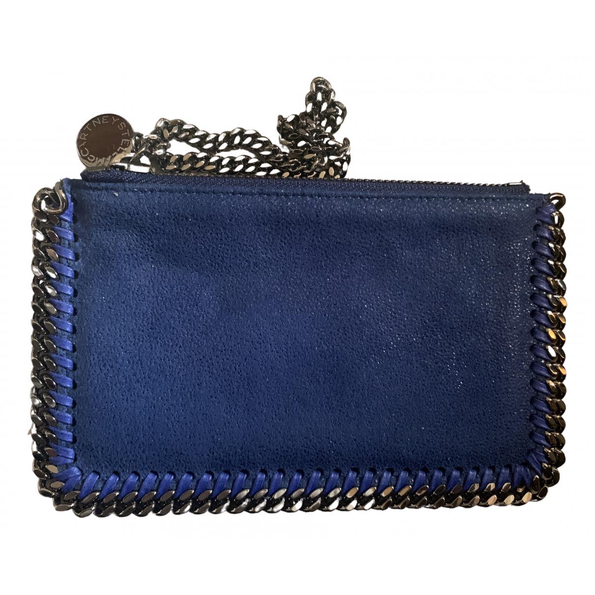 Stella Mccartney - Petite maroquinerie   pour femme en toile - bleu