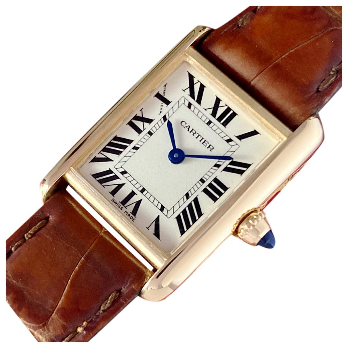 Reloj Tank Louis Cartier de Oro amarillo Cartier