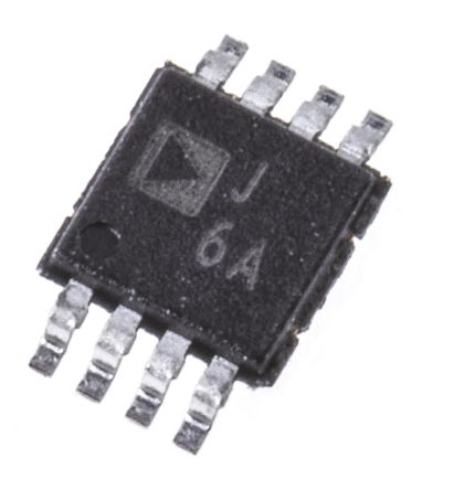 Analog Devices AD8310ARMZ , Log Amplifier, 3 V, 5 V Rail to Rail Input, 8-Pin MSOP