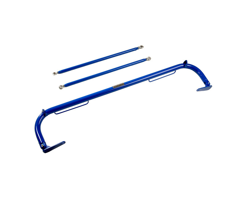 NRG HBR-003BL 51inch Blue Harness Bar Nissan 240SX S13 89-94