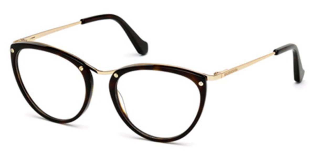Balenciaga BA5046 055 Women's Glasses Gold Size 51 - Free Lenses - HSA/FSA Insurance - Blue Light Block Available