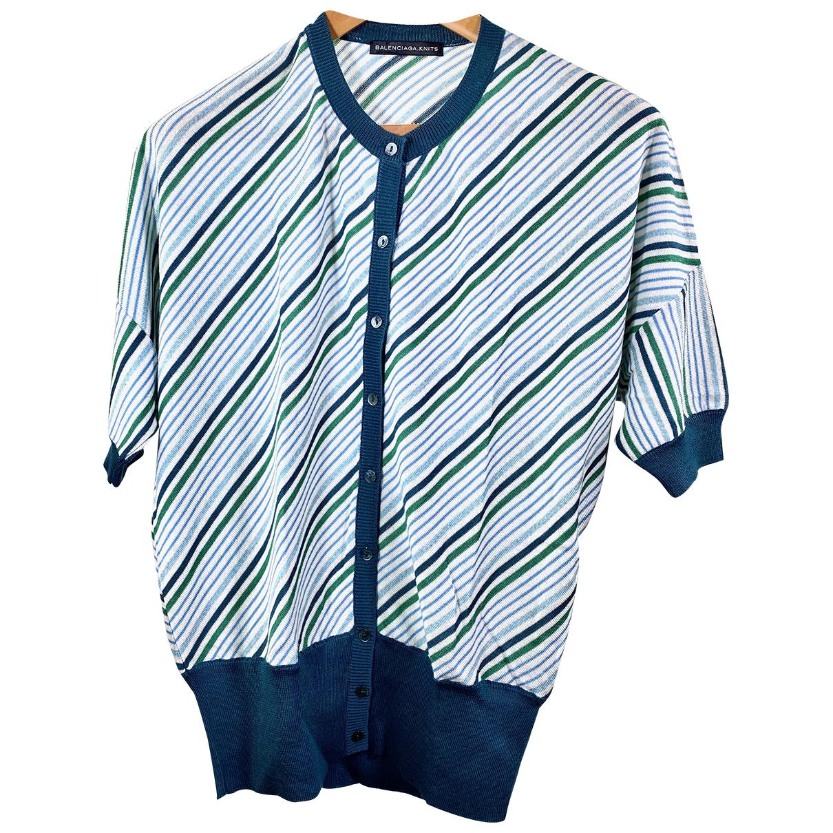 Balenciaga - Pull   pour femme en laine - vert