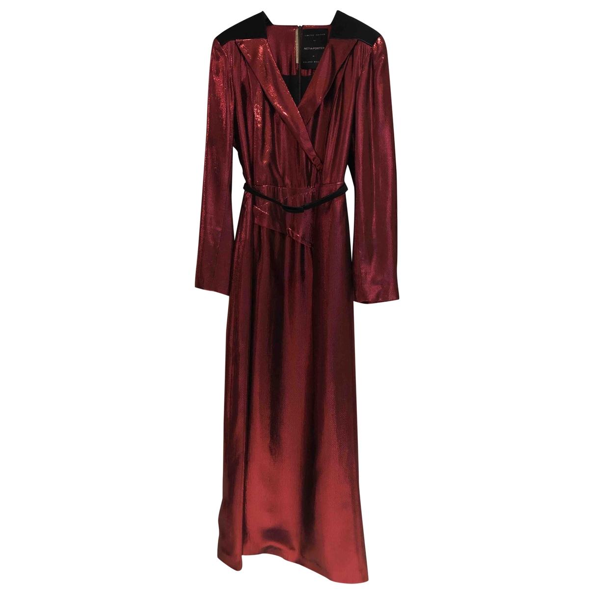 Roland Mouret \N Kleid in  Rot Synthetik