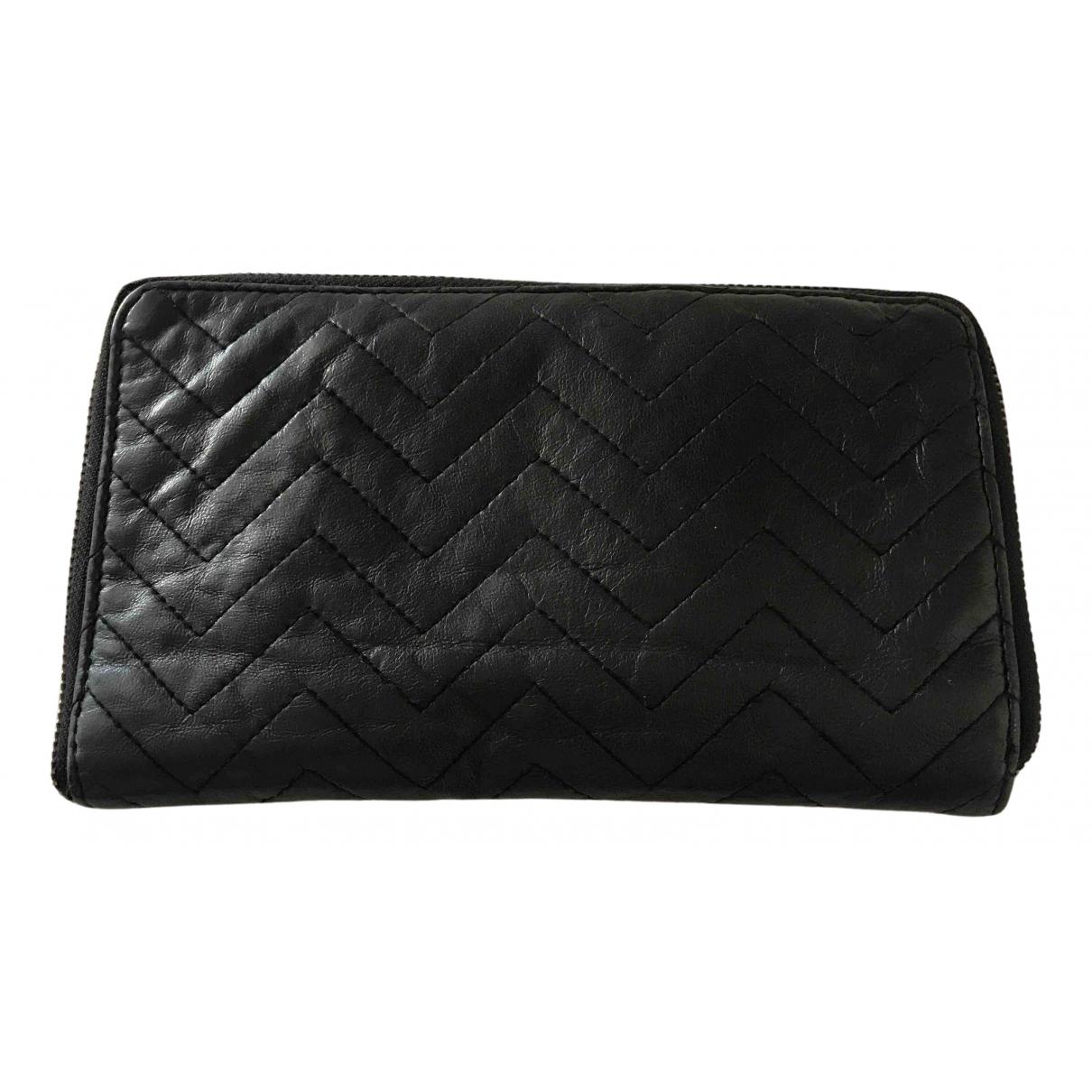 Beck Sonder Gaard N Black Leather wallet for Women N
