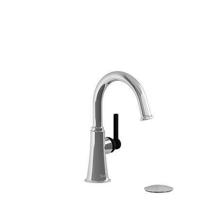 Momenti MMRDS01LCBK-05 Single Hole Lavatory Faucet with L Lever Handle 0.5 GPM  in