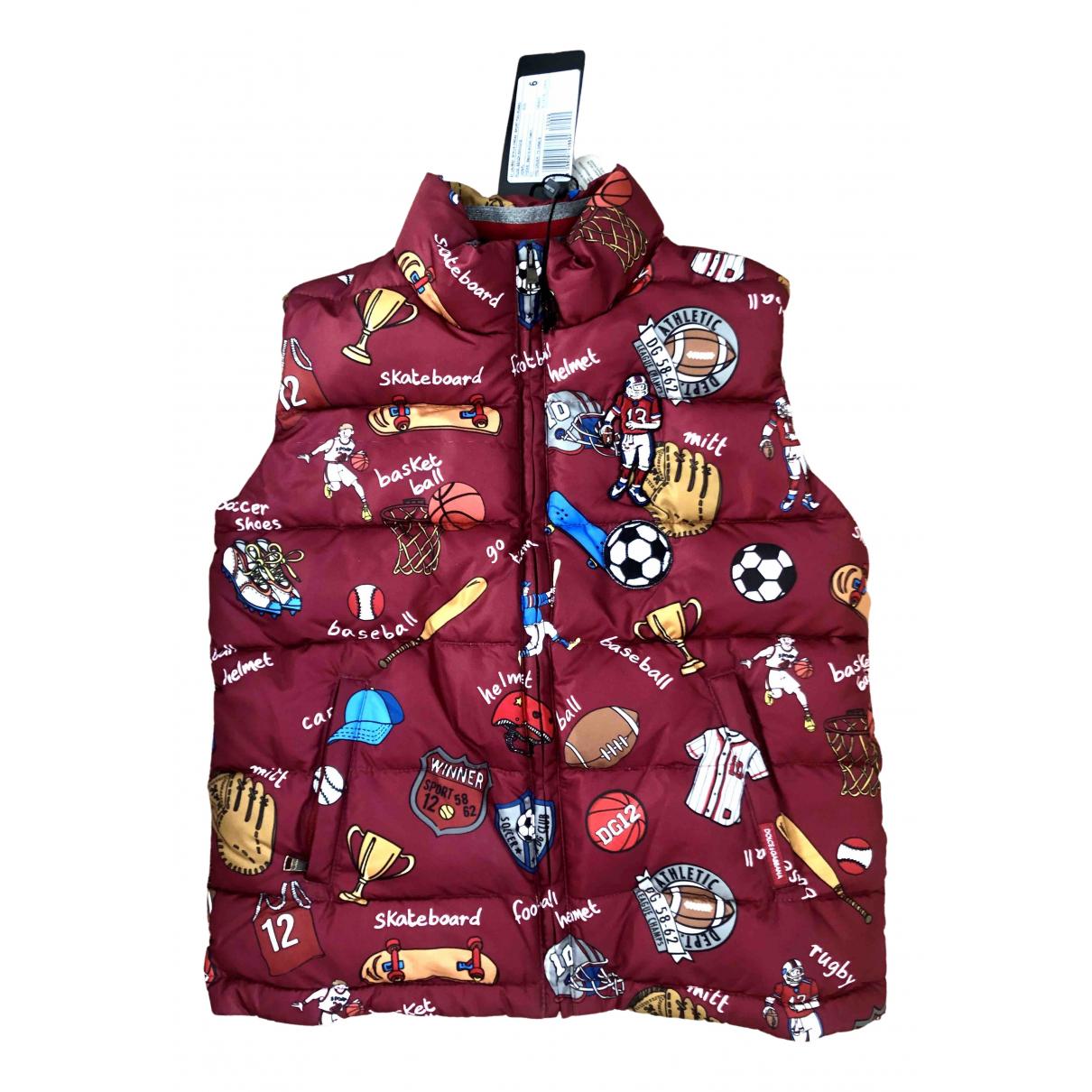Dolce & Gabbana \N Jacke, Maentel in  Bunt Polyester