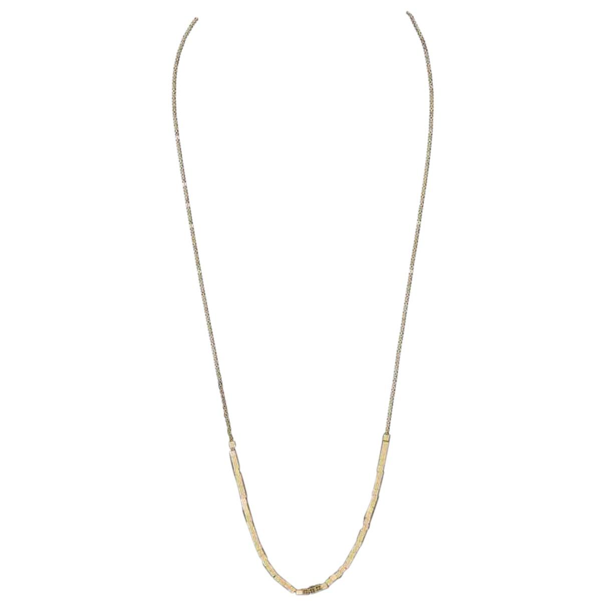 Calvin Klein N Gold Metal necklace for Women N