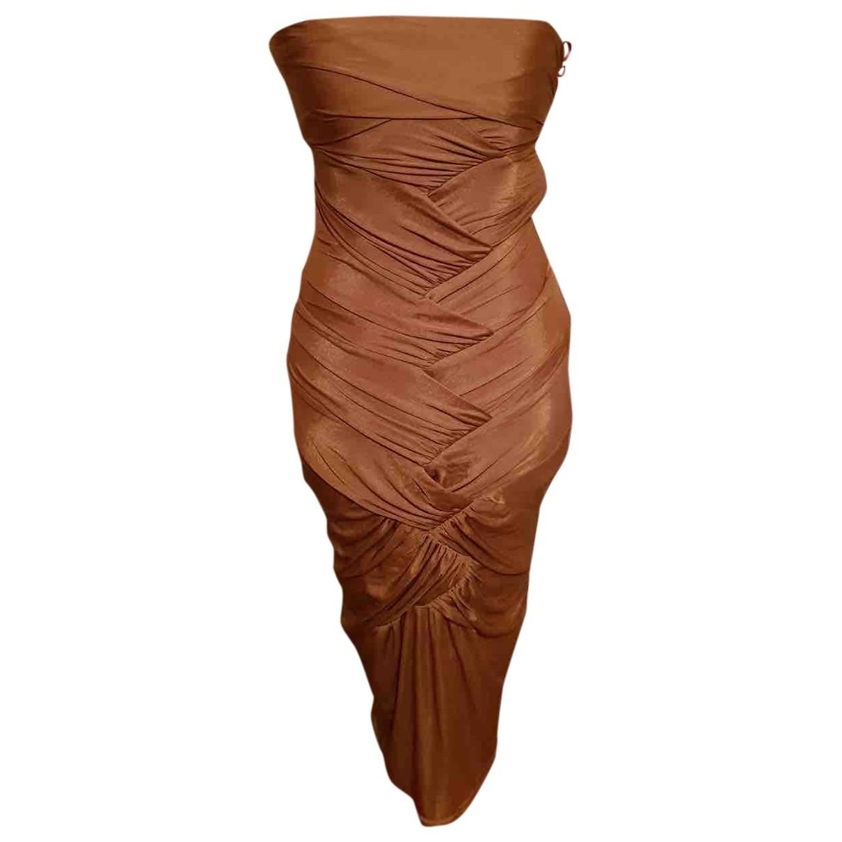 Gucci - Robe   pour femme - dore