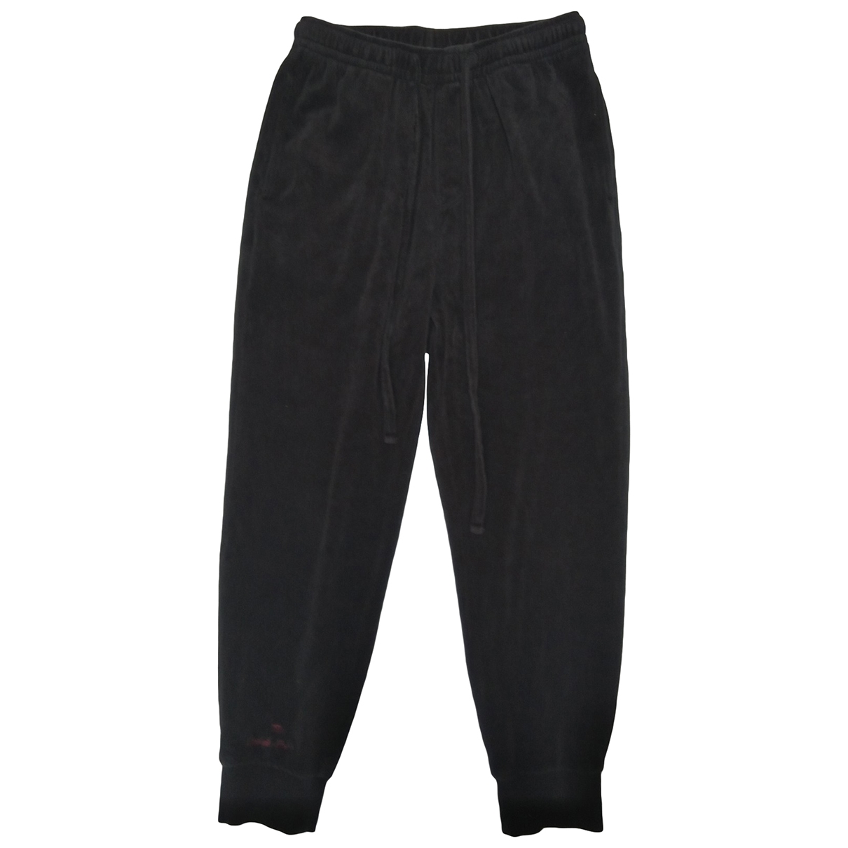 The Upside \N Black Cotton Trousers for Women 36 FR