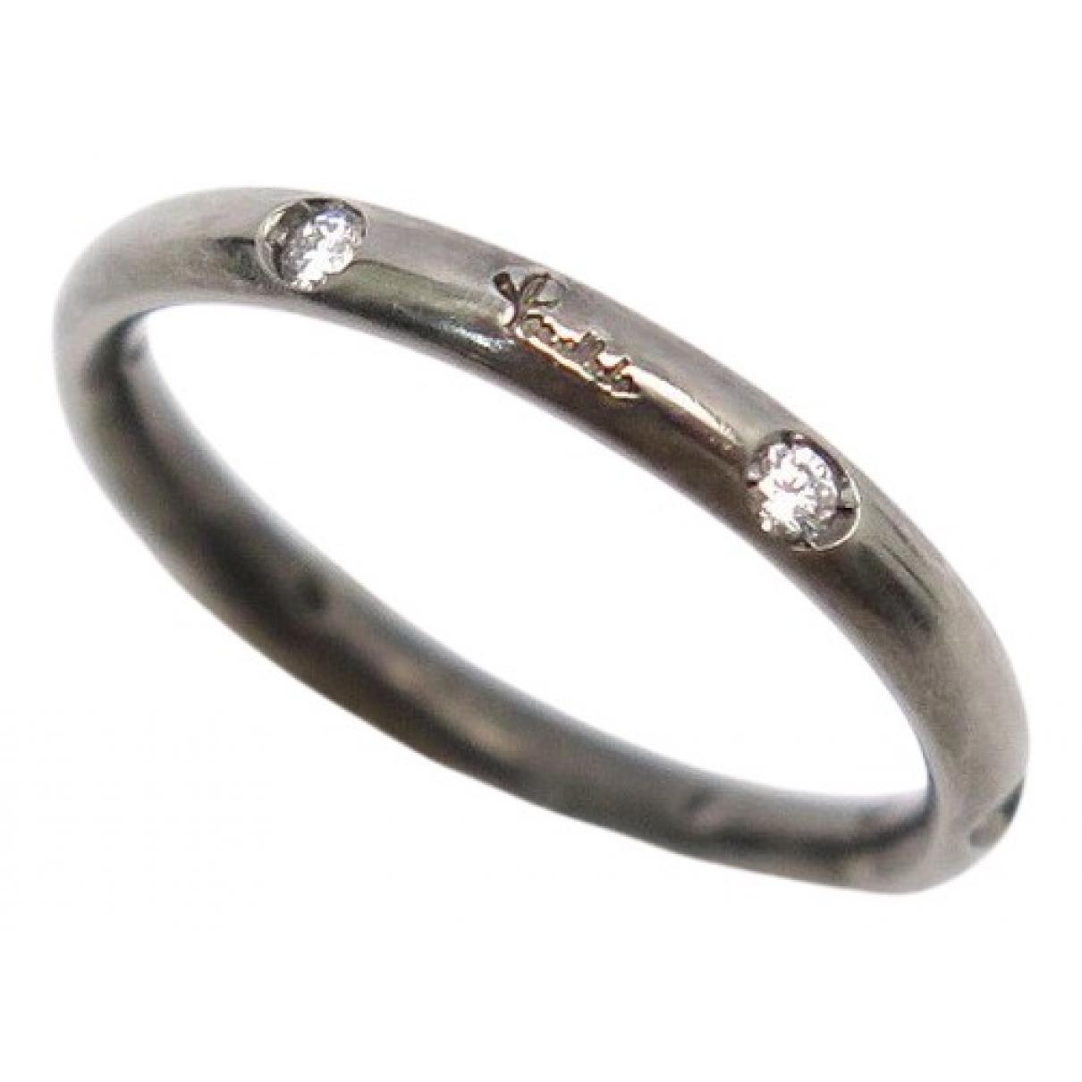 Pomellato Lucciole Metallic White gold ring for Women 44 MM