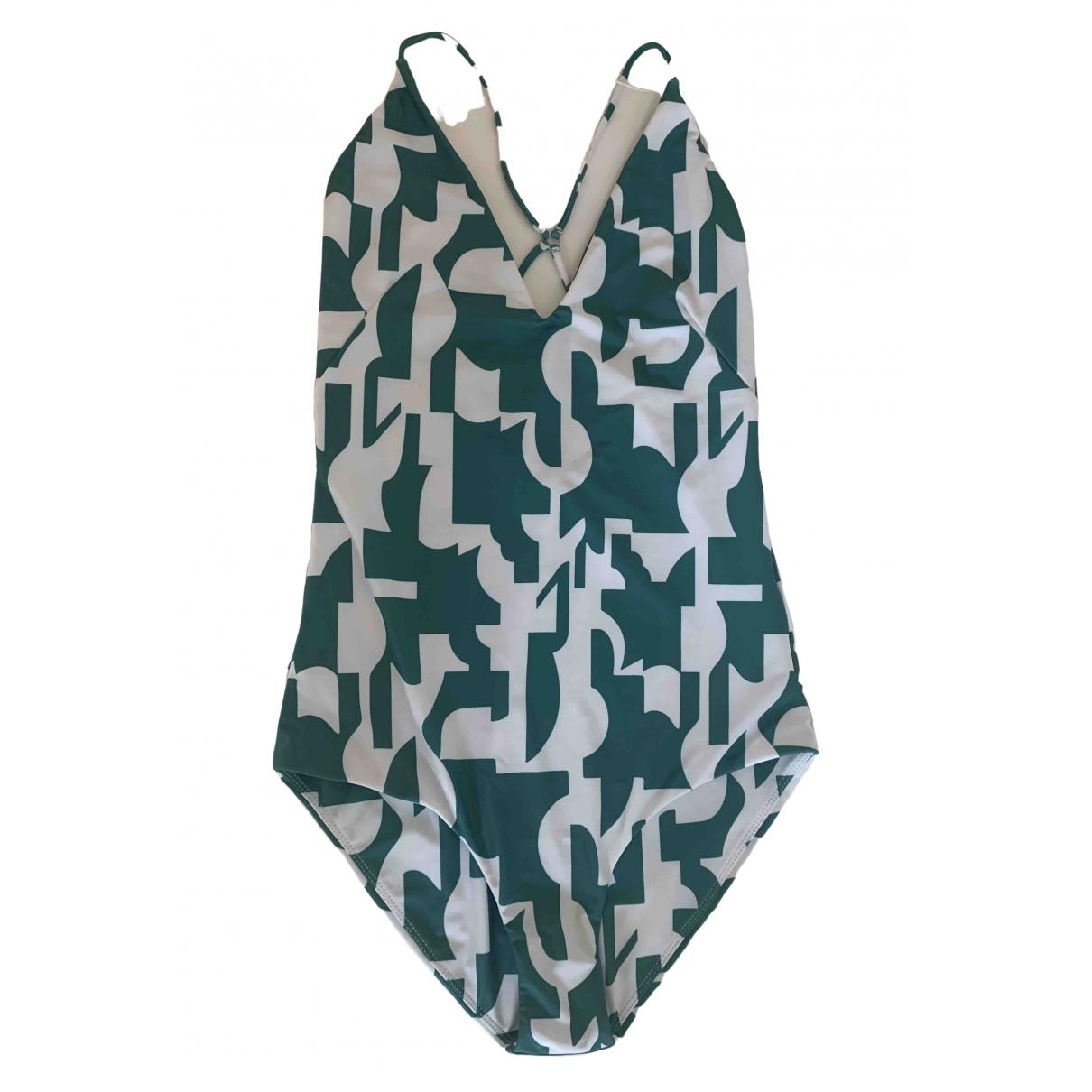 Mikoh \N Badeanzug in  Gruen Polyester