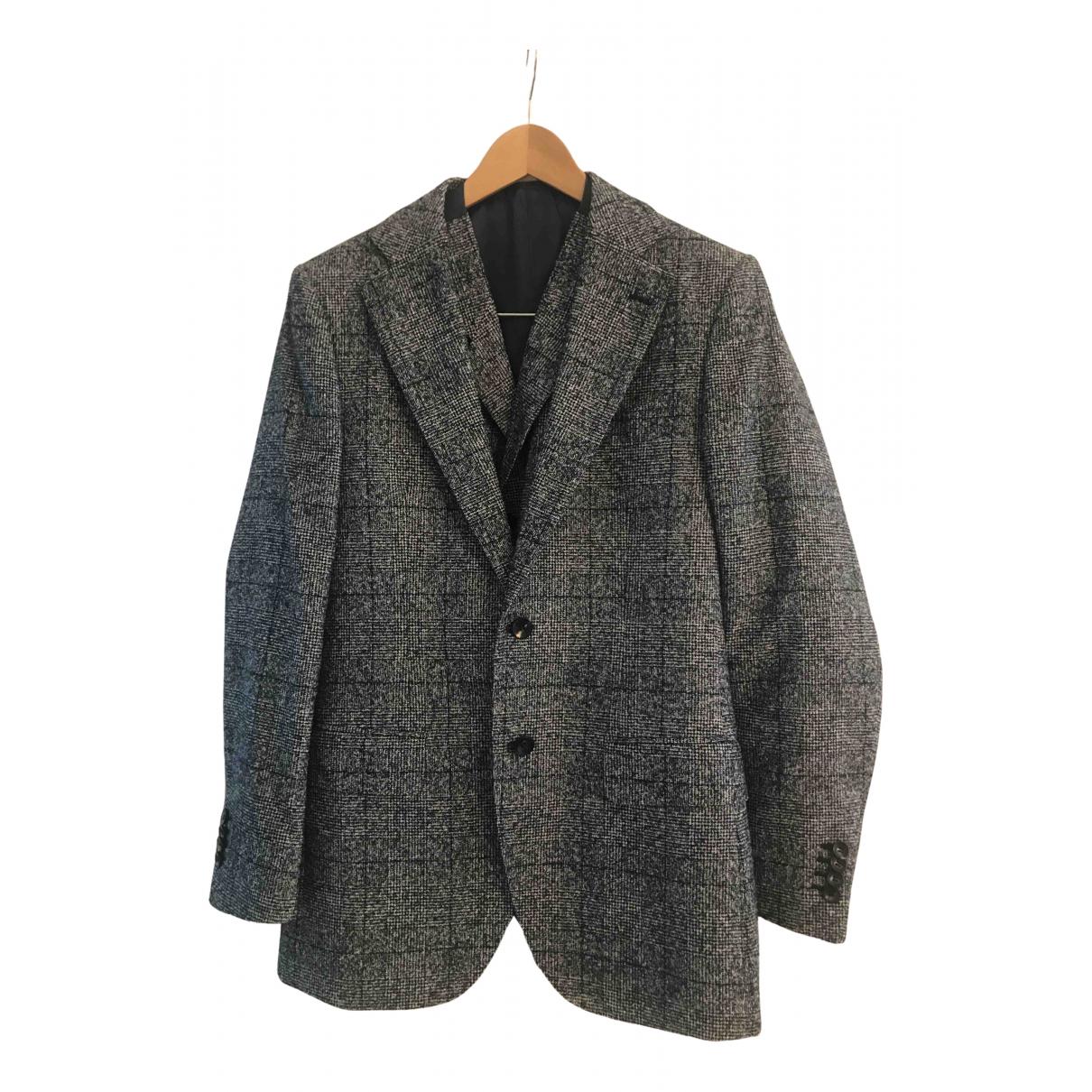 Suitsupply - Costumes   pour homme en laine - marine