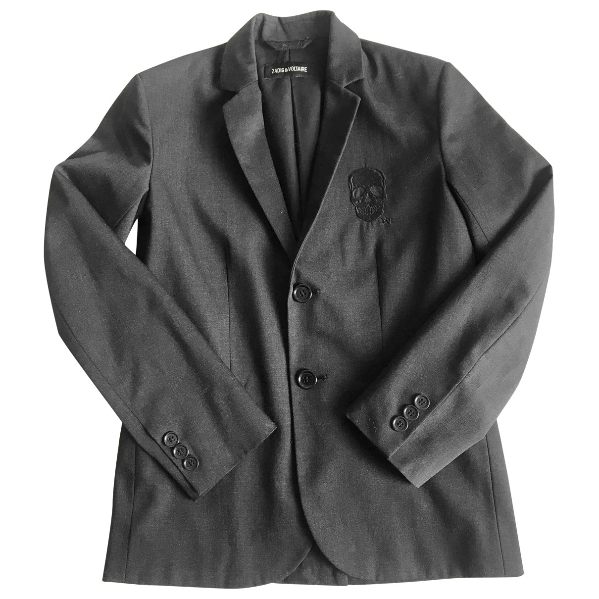 Zadig & Voltaire \N Black jacket & coat for Kids 10 years - up to 142cm FR