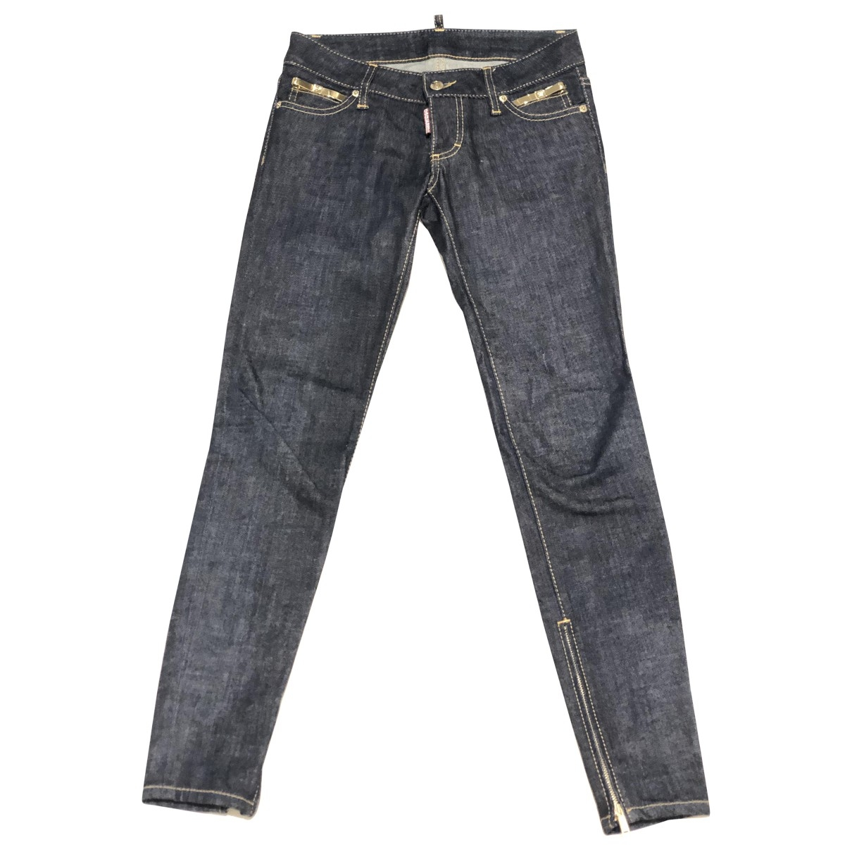 Dsquared2 \N Blue Denim - Jeans Jeans for Women 36 IT