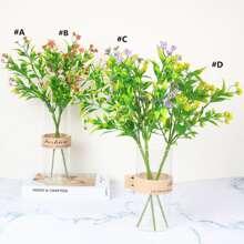 1bundle Artificial Flower With 5pcs Branch