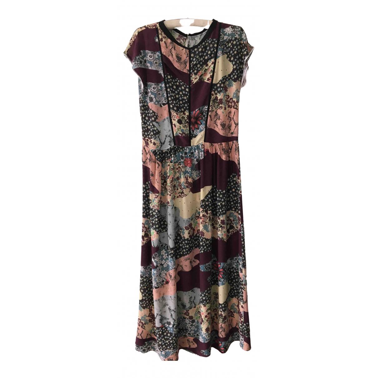Maxi vestido de Seda Zadig & Voltaire