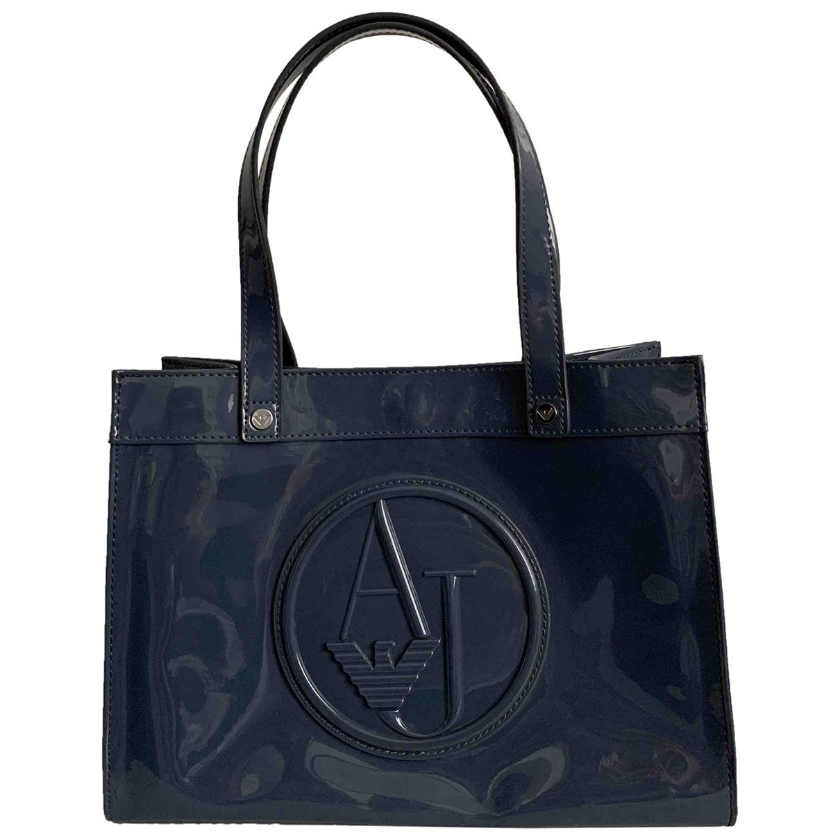 Armani Jeans \N Handtasche in  Grau Kunststoff