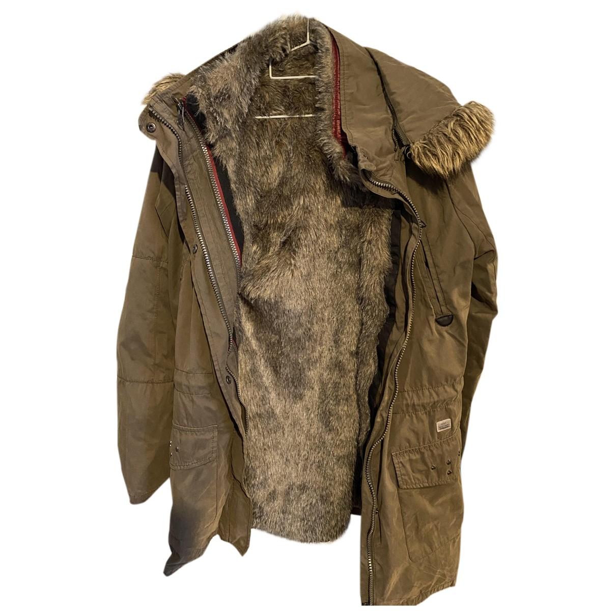 Ikks N Khaki Rabbit jacket & coat for Kids 14 years - S FR