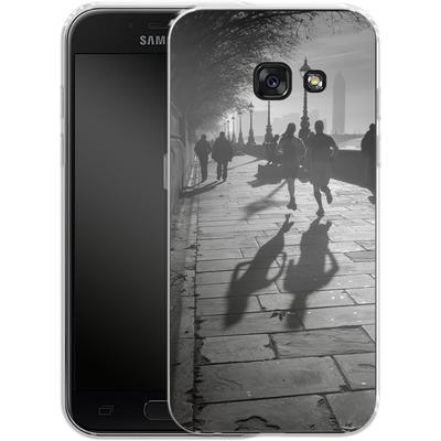 Samsung Galaxy A3 (2017) Silikon Handyhuelle - Walk If You Must von Ronya Galka