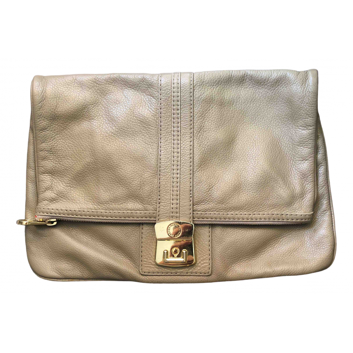 Marc By Marc Jacobs \N Beige Leather Clutch bag for Women \N