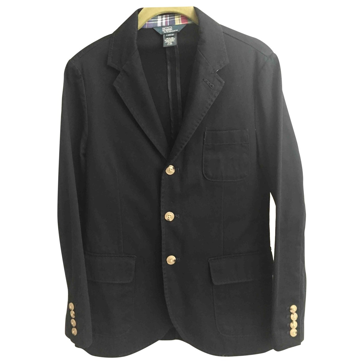 Polo Ralph Lauren \N Blue Cotton jacket & coat for Kids 14 years - S FR