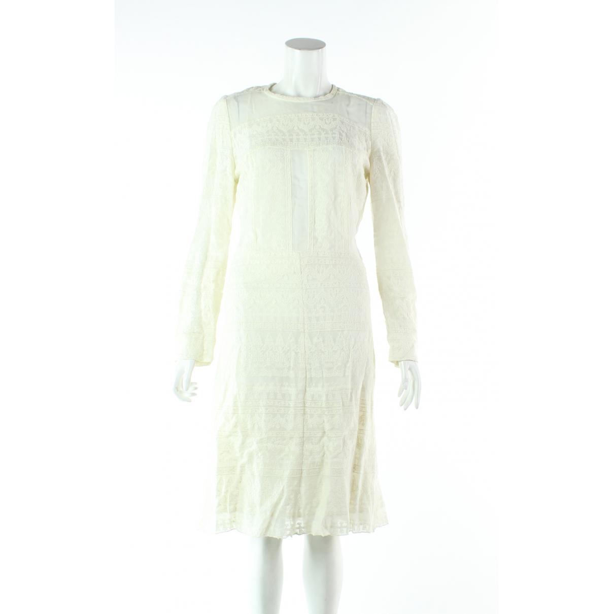 Isabel Marant \N Kleid in  Ecru Spitze